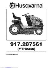 husqvarna owners manual yth2348