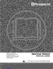 HUSQVARNA MZ5425S OPERATOR'S MANUAL Pdf Download