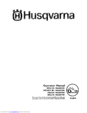 Husqvarna MZ6128 Manuals