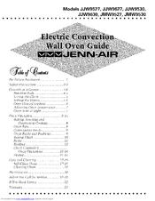 Jenn Air Jjw9627 Guide Manuals
