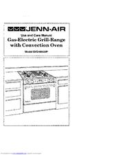 jenn air svd48600p manuals rh manualslib com jenn air range manual download jenn air range manual s16