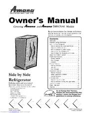 amana distinctions drs246rbc manuals amana washer instruction manual amana dehumidifier instruction manual