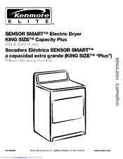 Kenmore SENSOR SMART 110.62082102 Use & Care Manual