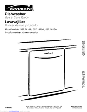 Kenmore 587.1518 Series Use & Care Manual