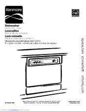 Kenmore 665.1421 Series Use & Care Manual