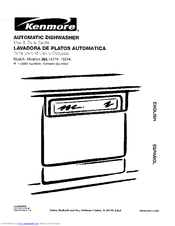 Kenmore 363.14773100 Use & Care Manual