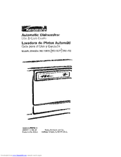 Kenmore 363.156 Use & Care Manual