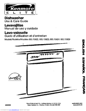 Kenmore 665.15922 Use & Care Manual