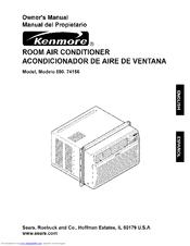 Kenmore 580.74156 Owner's Manual
