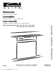 Kenmore 665.16914 Use & Care Manual