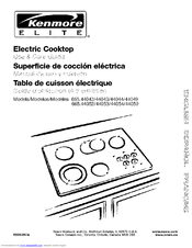 Kenmore Elite 665.44054 Use & Care Manual