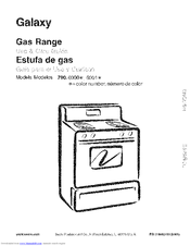 Kenmore Galaxy 790.6001 Use & Care Manual