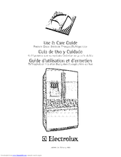 ELECTROLUX EI27BS26JW5 Use & Care Manual