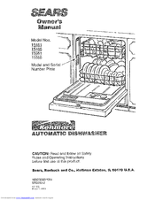 Kenmore 15565 Owner's Manual