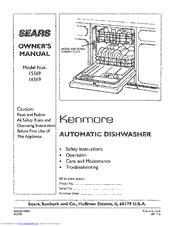 Kenmore 15569 Owner's Manual