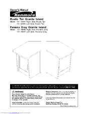 Kenmore 141.16694 Owner's Manual