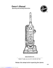 hoover u5780900 windtunnel cyclonic bagless upright vacuum cleaner rh manualslib com hoover linx cordless stick vacuum owners manual hoover vacuum cleaner service manual