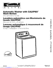 Kenmore 110. Series Use And Care Manual