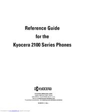Kyocera 2100 Series Reference Manual