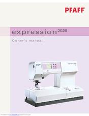 pfaff expression 2026 manuals rh manualslib com