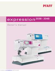 pfaff expression 2048 manuals rh manualslib com