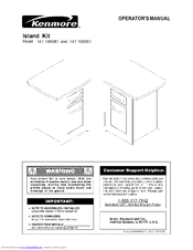 Kenmore 141.166981 Operator's Manual