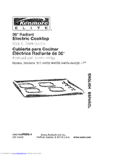 Kenmore ELITE 911.44039 Use & Care Manual