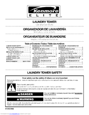 Kenmore ELITE 11010032600 Use And Care Manual