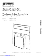 Kenmore 233.59960400 Use & Care / Installation Manual