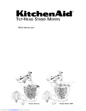 KitchenAid 5KSM150PSAPM0 Instructions Manual