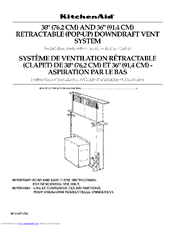 KitchenAid KIRD801VSS0 Installation Instructions And Use & Care Manual