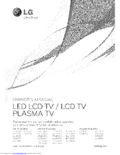 LG 32LE5400 Owner's Manual