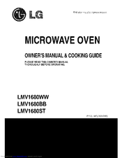 lg lmv1680st ss 1 6 cu ft stainless steel microwave manuals rh manualslib com