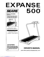 sears lifestyler expanse 500 manuals rh manualslib com Lifestyler Treadmill Review Sears Lifestyler Expanse 550 Treadmill