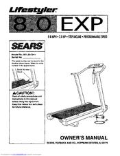 sears lifestyler 8 0 exp manuals rh manualslib com Lifestyler Expanse 850 Treadmill Lifestyler Expanse 850 Treadmill
