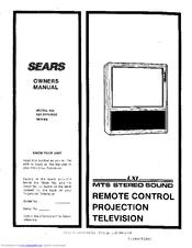sears lxi 626 54462950 manuals rh manualslib com Series LXI TV Remote Code lxi tv manuals