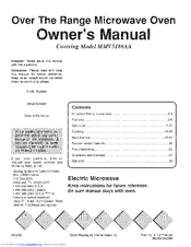 mmv5208 owners manual