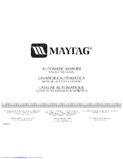 Maytag Mtw5700tq0 Manuals
