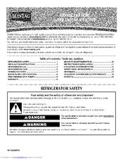 Maytag MFI2269VEB6 Manuals on