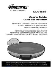 memorex md6451blk personal cd player manuals rh manualslib com yamaha cd-n301 user manual grundig aura cd user manual