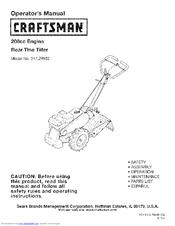 craftsman 247 29932 manuals rh manualslib com craftsman rear tine tiller parts list craftsman 208cc rear tine tiller manual