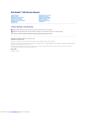 dell studio desktop manuals rh manualslib com Dell Users Manual dell studio xps 9100 desktop manual