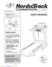 nordictrack powertread 1750 manuals rh manualslib com 2012 NordicTrack Commercial 1750 nordictrack commercial 1750 user manual