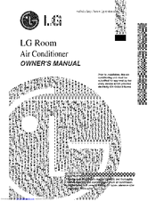 LG 3828A20535J Owner's Manual
