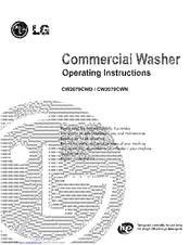 lg cw2079cwd manuals rh manualslib com lg washing machines instruction manuals lg washing machines instruction manuals