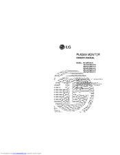 LG MU-50PZ41B Owner's Manual