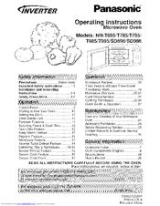 Panasonic Inverter Nn Sd986 Manuals Manualslib