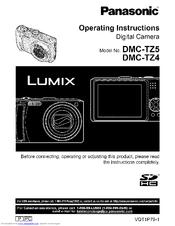panasonic lumix dmc tz4 manuals rh manualslib com Panasonic TZ5 Panasonic TZ5