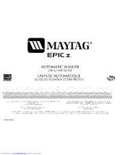 Maytag EPIC Z MHWZ400TQ02 Manuals