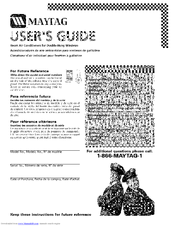 MAYTAG 23-11-2204N-006 User Manual